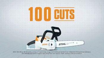 STIHL MSA 120 C-BQ TV Spot, 'Lightning Battery System: Single Charge' - Thumbnail 8