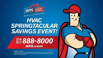 ARS Rescue Rooter Springtacular Savings Event TV Spot, 'Don't Miss It' - Thumbnail 9