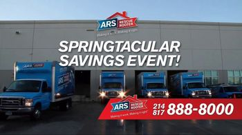 ARS Rescue Rooter Springtacular Savings Event TV Spot, 'Don't Miss It'