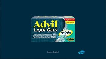 Advil Liqui-Gels Minis TV Spot, 'Big Breakthrough. Mighty Small Pill' - Thumbnail 9