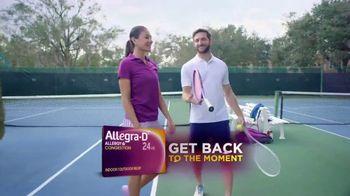 Allegra-D TV Spot, 'Tennis' - Thumbnail 8