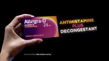 Allegra-D TV Spot, 'Tennis' - Thumbnail 4