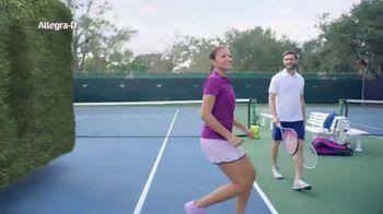 Allegra-D TV Spot, 'Tennis' - Thumbnail 7