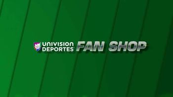 Univision Deportes Fan Shop TV Spot, 'Favoritos' [Spanish] - 102 commercial airings