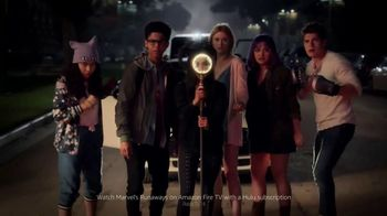 Amazon Fire TV TV Spot, 'Superpowers: Marvel's Runaways'