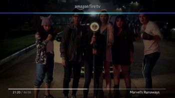 Amazon Fire TV TV Spot, 'Superpowers: Marvel's Runaways' - Thumbnail 5