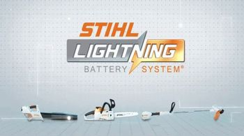 STIHL BGA 56 Blower TV Spot, 'Lightning Battery System' - Thumbnail 8