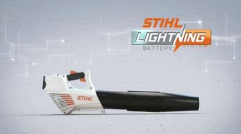 STIHL BGA 56 Blower TV Spot, 'Lightning Battery System' - Thumbnail 3