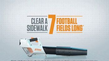 STIHL BGA 56 Blower TV Spot, 'Lightning Battery System' - Thumbnail 7
