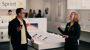 Sprint TV Spot, 'Meet the Sprintern: iPhone X for $20' - Thumbnail 8