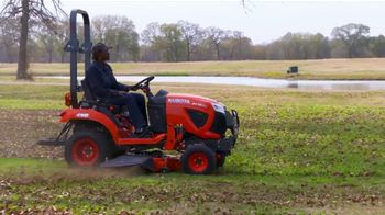 Kubota Bring on Spring Event TV Spot, 'BX1880 Tractors'