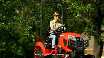 Kubota Bring on Spring Event TV Spot, 'BX1880 Tractors' - Thumbnail 1