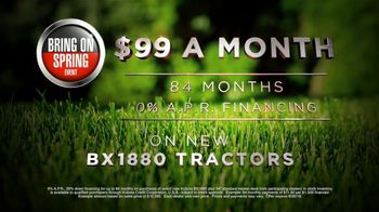Kubota Bring on Spring Event TV Spot, 'BX1880 Tractors' - Thumbnail 7