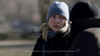 Amazon Fire TV TV Spot, 'Too Many Questions: Homeland' - 456 commercial airings