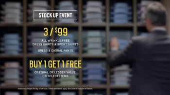 Men's Wearhouse Stock Up Event TV Spot, 'Mix It Up' - Thumbnail 6