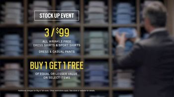 Men's Wearhouse Stock Up Event TV Spot, 'Mix It Up' - Thumbnail 7