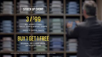 Men's Wearhouse Stock Up Event TV Spot, 'Mix It Up' - Thumbnail 8