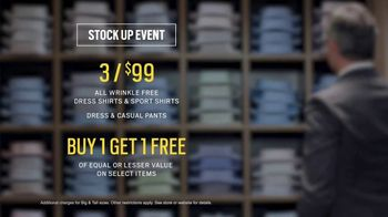 Men's Wearhouse Stock Up Event TV Spot, 'Mix It Up' - Thumbnail 9