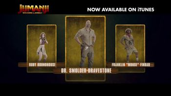 Jumanji: Welcome to the Jungle Home Entertainment TV Spot - Thumbnail 3