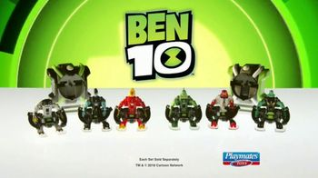 Ben 10 Omni-Launch Battle Figures TV Spot, 'Transform in Midair' - Thumbnail 9