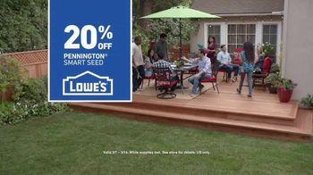 Lowe's TV Spot, 'Backyard Moment: Pennington Smart Seed' - Thumbnail 10