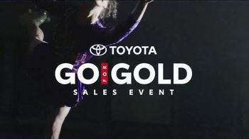 Toyota Go for Gold Sales Event TV Spot, 'Olympic Winter Games' [T2]