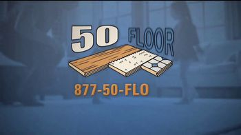 50 Floor 60 Percent Off Sale TV Spot, 'The Perfect Floors for Your Home' - Thumbnail 9