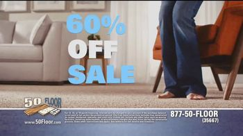 50 Floor 60 Percent Off Sale TV Spot, 'The Perfect Floors for Your Home' - Thumbnail 6