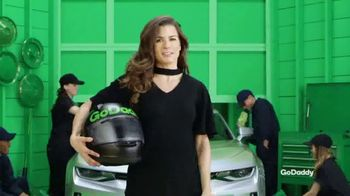 GoDaddy TV Spot, \'Make Your Idea Real Like Danica Patrick\'