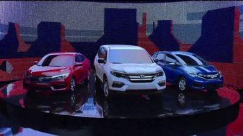Honda Presidents' Day Sales Event TV Spot, 'Celebrating All Across America' [T2] - 9 commercial airings
