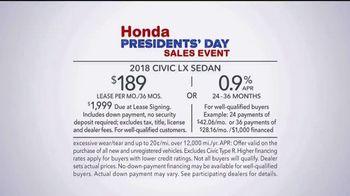 Honda Presidents' Day Sales Event TV Spot, 'Celebrating All Across America' [T2] - Thumbnail 8