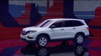 Honda Presidents Day Sales Event TV Spot, 'Celebrating All Across America'