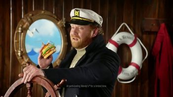 Wendy's Premium Cod Fillet Sandwich TV Spot, 'Set Sail for Crunchy' - Thumbnail 6