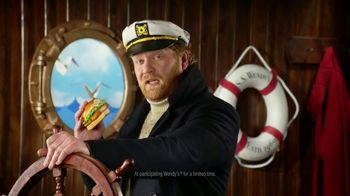 Wendy's Premium Cod Fillet Sandwich TV Spot, 'Set Sail for Crunchy'