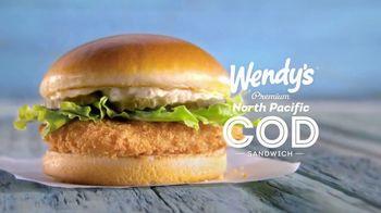 Wendy's Premium Cod Fillet Sandwich TV Spot, 'Set Sail for Crunchy' - Thumbnail 9