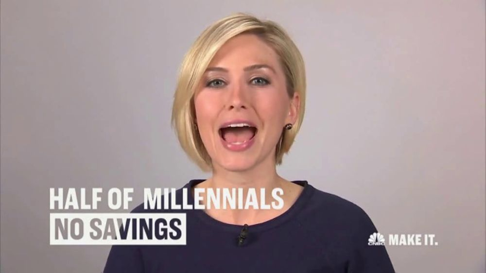 CNBC Make It TV Commercial, 'Millenial Savings' Featuring Morgan Brennan -  Video