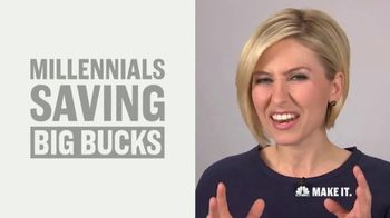 CNBC Make It TV Spot, 'Millenial Savings' Featuring Morgan Brennan - Thumbnail 4