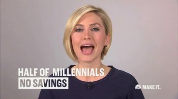 CNBC Make It TV Spot, 'Millenial Savings' Featuring Morgan Brennan