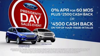 Ford Presidents Day Sales Event TV Spot, 'Procrastinators' [T2] - Thumbnail 10