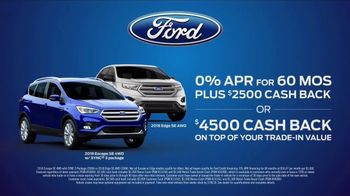 Ford Presidents Day Sales Event TV Spot, 'Procrastinators' [T2] - Thumbnail 6