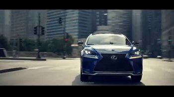 Lexus Special Presidents' Day Offer TV Spot, 'Glass World: 2018 NX 300'