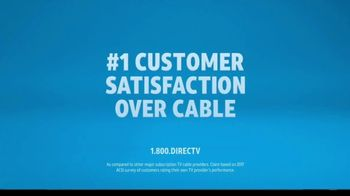 DIRECTV TV Spot, 'More for Your Thing: Great Ratings' - Thumbnail 7