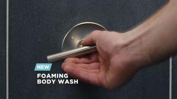 Dove Men+Care Foaming Body Wash TV Spot, 'Pump and Hydrate'