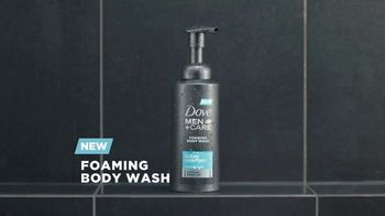 Dove Men+Care Foaming Body Wash TV Spot, 'Pump and Hydrate' - Thumbnail 1
