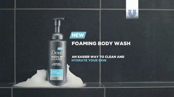 Dove Men+Care Foaming Body Wash TV Spot, 'Pump and Hydrate' - Thumbnail 9