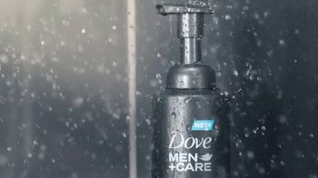 Dove Men+Care Foaming Body Wash TV Spot, 'Pump and Hydrate'