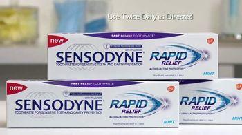 Sensodyne Rapid Relief TV Spot, 'Sensitivity Relief in Three Days' - Thumbnail 3