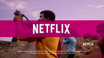 T-Mobile 4 Lines + Netflix TV Spot, 'Binge Watching' - Thumbnail 4