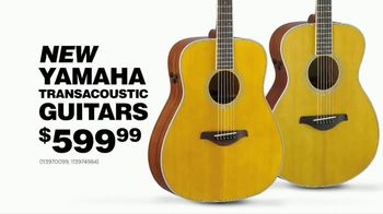 Guitar Center Presidents Day Weekend Sale TV Spot, \'Yamaha Guitars\'