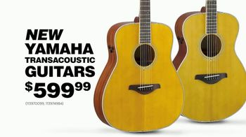 Guitar Center Presidents Day Weekend Sale TV Spot, 'Yamaha Guitars' - Thumbnail 5